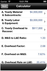 Direct Cost Overhead Allocation Calculator