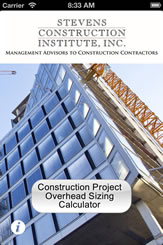 Construction Project Overhead Sizing Calculator